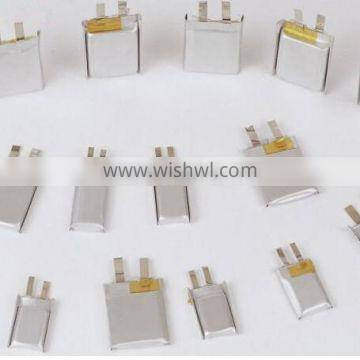 Genuine rechargeable 602030 3.7V 300mAh LIthium polymer battery with high quality