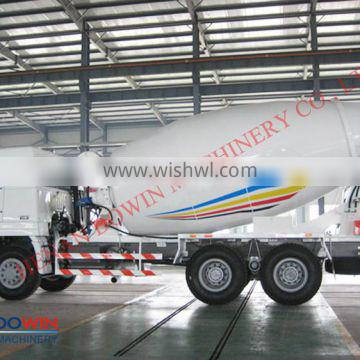 self loading 5m3 concrete mixer truck for construction