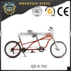 Leisure Outdoor Aluminium Alloy Steel Double Seats Tandem Bike