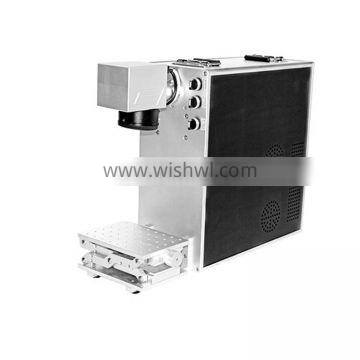 14years factory profession supply high quality mini type 20w fiber laser marking machine for metal
