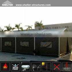 Hot Sale Aluminum CE,SGS and TUV Certificate Good Quality Semi Permanent Used Army Tents