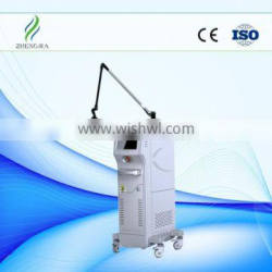 8.0 Inch Fractional Laser Co2 Laser Tumour Removal Multifunctional Beauty Machine For Wrinkles Removal Eye Wrinkle / Bag Removal
