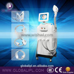 Low price multifunction acne therapy ipl machine aft shr ipl with roller