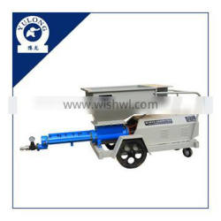 subway screw type cement mortar grout machine