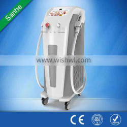SANHE Multifunctional SHR+ IPL E-light Machine for Hair Removal+ Skin Rejuvenation