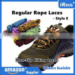 Regular Thick Non-Slip Hiking Sneakers Rope Round Cord Laces - Customized Yeezy Hiker Rope Laces - 8 Colors Available