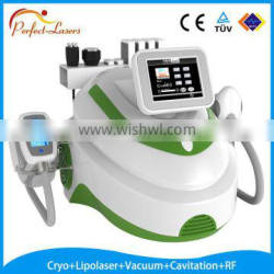 Best selling Distributors Wanted CE&ISO Approved Protable Vacuum Cavitation Cryo Lipolaser Lose Weight Equipment