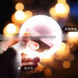 New Portable LED Lamp Camera Flash Light For Cell Phone Tablet Selfie