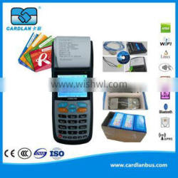 Protable Handheld POS Device with Card Reader/Writer Function, can Generate Prepaid Payment Card