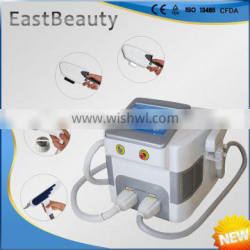 hair removal and skin care machine with 4 handles elight ipl rf nd yag laser