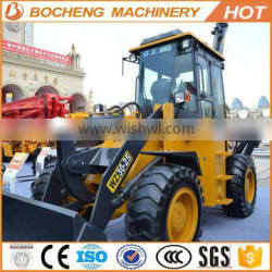 low-emission multifunctional four wheel drive the W type WZ30-25 65KW 1.0CBM 950kg compact tractor backhoe