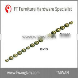 Taiwan Supplier Length: 1M x Nail's dia: 9.5mm Nickel Furniture Sofa nail