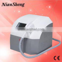 Spa shr ipl hair removal machine with ergonomicstreamlined handpiece,emergency button for safe treatment