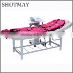 SHOTMAY STM-8033 2015 hottest air pressotherapy\/infrared pressotherapy home use machine with low price