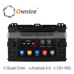 Ownice Android 4.4 quad core Car GPS navi for TOYOTA PRADO with iPod iphone