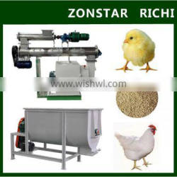 2016 Experienced Manufacturer 1-2 tons per hour poultry feed pellet machine