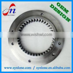 High quality high precision internal gear ring with 100% inspection