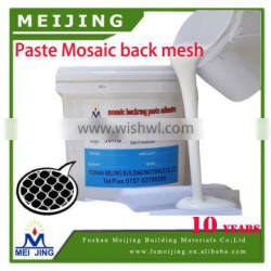 very sticky white color milky glue for mosaics