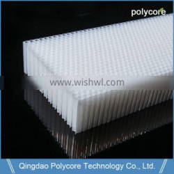 Honeycomb poly carbonate board sheets of plastic honeycomb suppliers