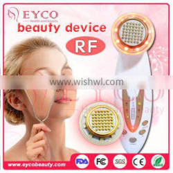 Hot sale!!portable salon beauty equipment bipolar radiofrequency skin tightening home use rf machine for skin care