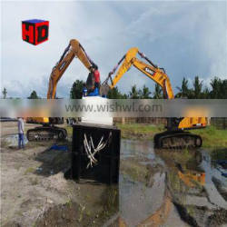 Durable hydraulic river sand Cutter Suction Dredger for dredging