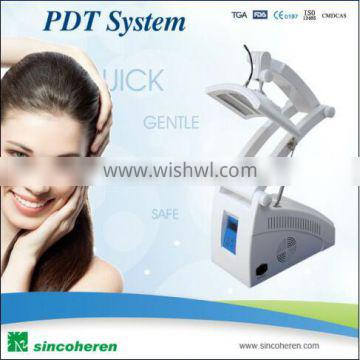 LED acne therapy collagen red light therapy machine
