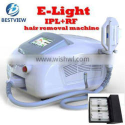 Real Sapphire crystal Xenon lamp Elight Wrinkle remover skin rejuvenation ipl hair removal