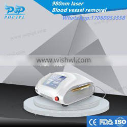 Blood Vessels Remova 980 nm /980 nm diode laser /vascular therapy 980nm laser vascular removal machine