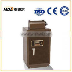 Stainless Steel LED Money Safe with Hidden Key Hole