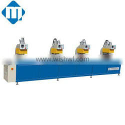 Small upvc window welding machine