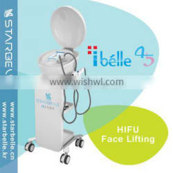 Chest Shaping Face Rejuvenation HIFU High Frequency Facial Device Beauty Machine Forehead Wrinkles Removal