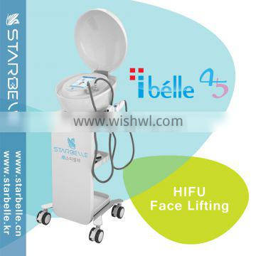 Eye Lines Removal HIFU High Focused Professional High Frequency Machine Ultrasound Ultrasonic Machine For Pain Relief