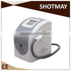 2015 Big power elight and Bipolar RF two in one laser hair removal machine