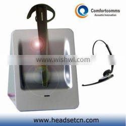 2013 super version noise cancelling 2.4GHz call center hot sale wireless headset CW-3000