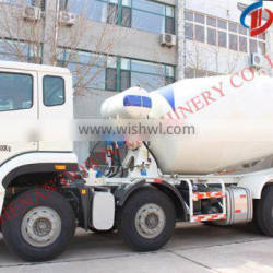 used 8 cubic meters concrete mixer truck, hot!!!