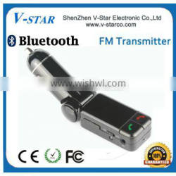 Wireless FM Transmitter with remote control for mobilephone