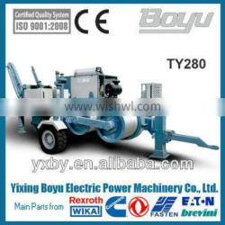 60KN overhead transmission hydraulic 6T electric puller