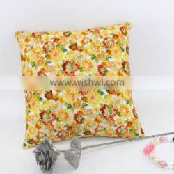 New Arrival Square Flower Print Sofa Throw Pillows