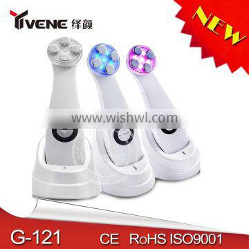 4 Colors Skin Tightening galvanic facial beauty equipment