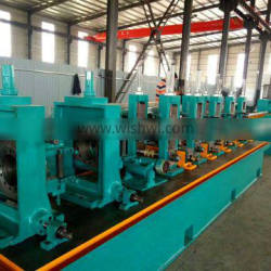 high quality hf welded pipe production line carbon steel tube making machine