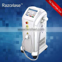 FDA and TUV CE approved 808nm diode laser hair removal laser for permanent hair removal