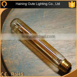 2015 newest vintage retro products amber glass hairpin edison bulb T10