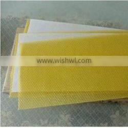 refiend yellow beeswax foundation sheet popular selling for exoport in bulk natural comb foundation sheet
