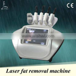 Professional real 650nm laser fat burning machine with 4 big pads and 2 small pads