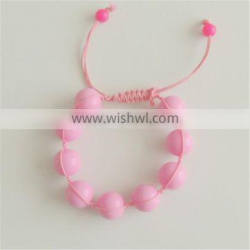 2014 Fashion Baby chewing and Teething Silicone bead wristband