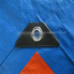 Repair Sites/fences Sky Blue & Orange Tarpaulin Cargo Cover