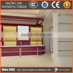 Fashion jewelry show cabinet for stand cabinet with lighting