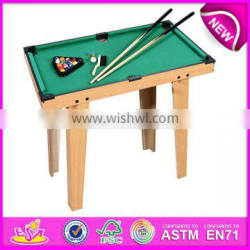 2014 Small wooden snooker table,snooker pool table toy for sale,mini wooden toy snooker table W11A032