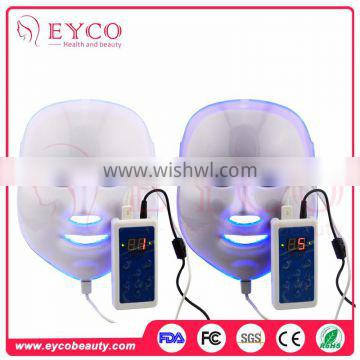 Wholesale low price 7 colors Spa use facial care equipment led beauty light mask beauty device home use