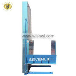 7LSJW Shandong SevenLift 2 floors house hydraulic outdoor vertical wheelchair disabled lift elevator price